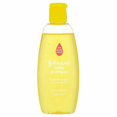 Johnson's Baby Shampoo, 100ml Ideal for travel