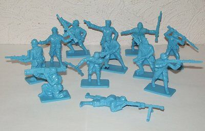 NEW!!! Plastic toy soldiers 1/32 WW2 French army set. 12pcs