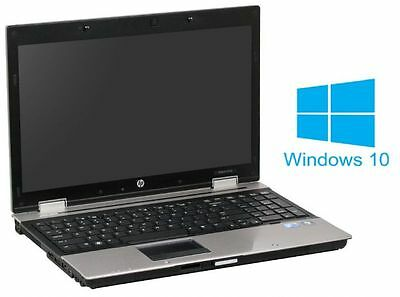 HP Elitebook 8540p - Core i5 M540 @ 2,5GHz - 4GB RAM - 250GB HDD - DVD-ROM - Win