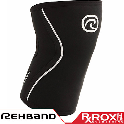 Rehband RX Line Knee Support | 7mm | Black | CrossFit