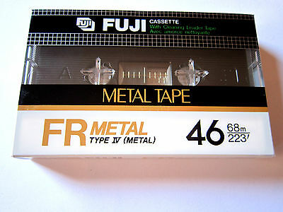 CASSETTE TAPE BLANK SEALED - 1x (one) FUJI FR 46 METAL [1982] made in Japan