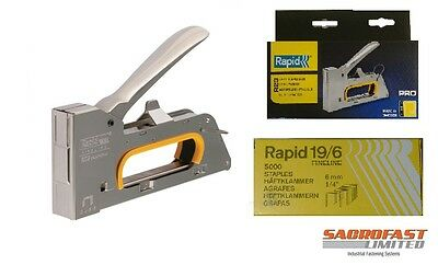 Rapid 23 Metal Hand Tacker With Free Box Staples