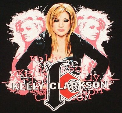 Kelly Clarkson 2005 Breakaway Tour Concert T-Shirt, Size Small, American Idol