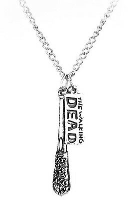 The Walking Dead Negan's baseball bat 'Lucille' Necklace UK FAST DELIVERY!