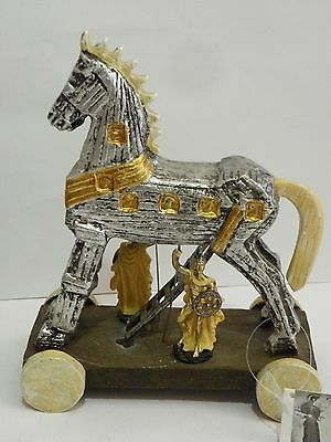 Trojan Horse Mythology 8.3'' Figurine  Statue  Historic Collectible Decor