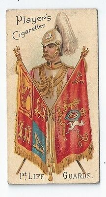 PLAYER Military Series 1st Life Guards Card 1900