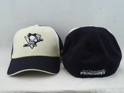 NHL Pittsburgh Penguins Flexfit OSFA Ice Hockey Cap Hat