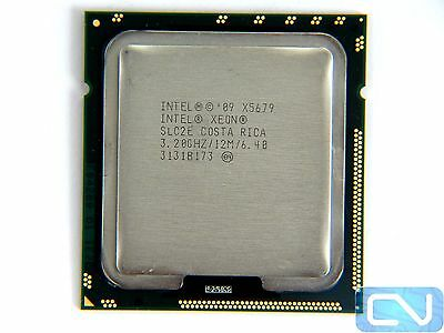 Matched pair Xeon X5679 CPU's (X5680 equivalent)