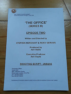 Original Shooting Production Script for The Office Series 2