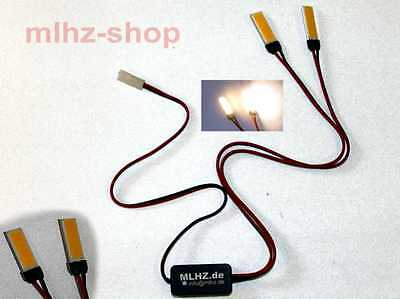 Hexacopter Quadrocopter Flash einst. LED Set 2x 1,8W EXTREM Hell 12V 3S DJI Taro