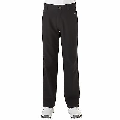 New For 2017 - adidas Golf Boy's Ultimate Golf Trousers - Boys Trouser Pant