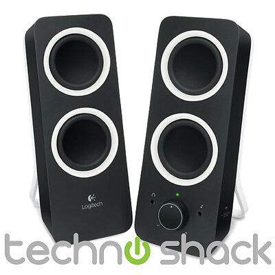 Logitech Multimedia Speakers Z200 for iPad, iPhone, Smartphone, Tablet, MP3