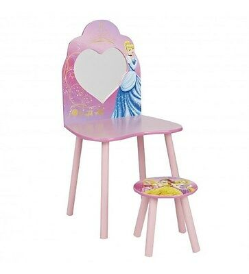 Worlds Apart Disney Princess Children's Dressing Table And Stool