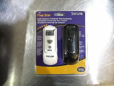 Taylor Five Star Non-Contact Infrared Thermometer New