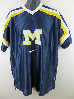 Nike Michigan University Jersey American College Football Shirt L Large