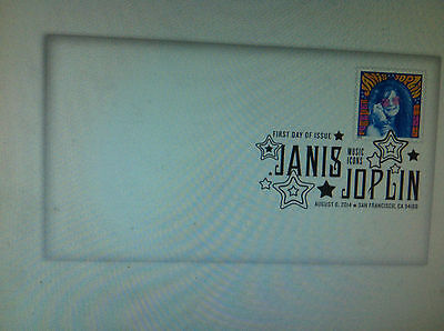 Janis Joplin postage stamp First Day Cover Woodstock era