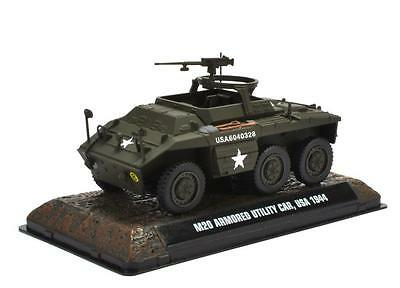 M20 Utility Car USA 1944 1:43 Fertigmodell aus Metall in Displayvitrine