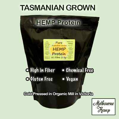 Hemp Protein High Fibre Tasmanian Grown 50 g - 4 Kg