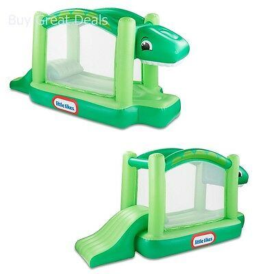 Little Tikes Dino Bouncer, Outdoor Heavy Duty Kids Inflatable Bounce House - New
