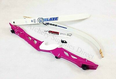 "Rhd 68"" Pink Core Archery Jet Recurve Bow Set"