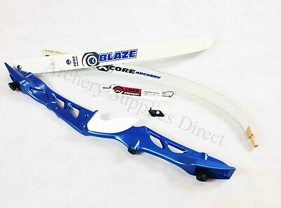 "Rhd 68"" Blue Core Archery Jet Recurve Bow Set"