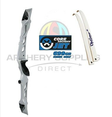 "Rhd 68"" Silver Core Archery Jet Recurve Bow Set"