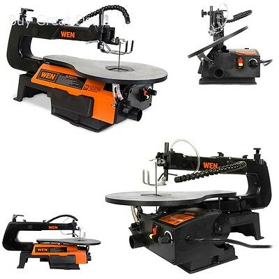 WEN 16-inch Variable Speed SCROLL SAW, 1.2 Amp Adjustable Air Pump SCROLL SAW