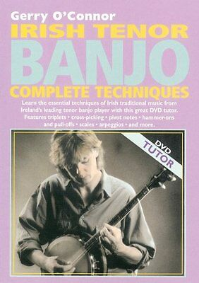 Guide to Learning Irish Tenor Banjo Complete Techniques Gerry O'Connor DVD