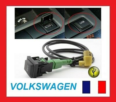 USB Adapter Cable for Volkswagen Skoda RCD510+ RCD310+ RNS315 iPod iPhone 6s 5s