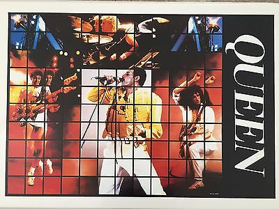 QUEEN, RARE AUTHENTIC 1980's POSTER