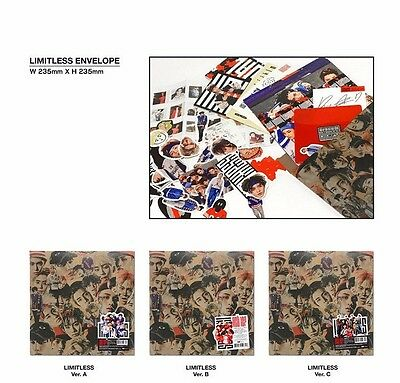 NCT127 [LIMITLESS] NCT 127 Album CD + Booklet + Photocard + ETC Factory Sealed
