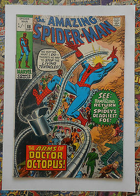 Amazing Spider-Man #88 - Sept 1970 - Dr Octopus Appearance! - Fn (6.0)