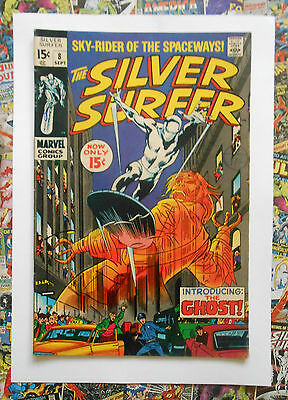 Silver Surfer #8 - Sept 1969 - Mephisto Appearance! - Vfn- (7.5) Cents!