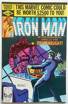 Iron Man #138 - Sept 1980 - Dreadnought Appearance! - Vfn/nm (9.0) Cents Copy!