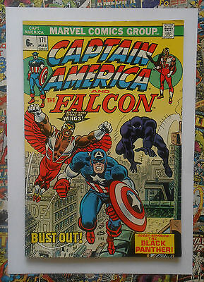 Captain America #171 - Mar 1974 - Black Panther Appearance! - Fn (6.0)