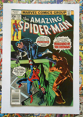 Amazing Spider-Man #175 - Dec 1977 - Punisher Appearance! - Vfn+ (8.5) Cents!