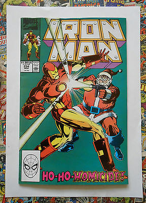 Iron Man #254 - Mar 1990 - Taskmaster Appearance! - Nm (9.4)