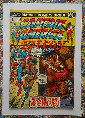 CAPTAIN AMERICA #164 - AUG 1973 - 1st NIGHTSHADE APPEARANCE! - FN (6.0)