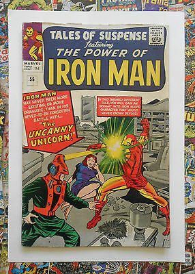 TALES OF SUSPENSE #56 - AUG 1964 - 1st UNICORN APPEARANCE! - VG/FN (5.0) PENCE
