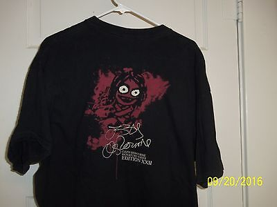 Hard Rock Cafe New Orleans Ozzy Osbourne Signature Series Xlarge Black T-Shirt
