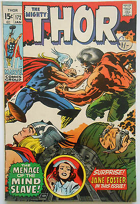 THOR #172 - JAN 1970 - 1st APPEARANCE KRONIN KRASK! - FN/VFN (7.0) CENTS COPY!!