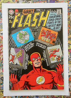 The Flash #196 - May 1970 - Bronze Age 68 Pg Giant! - Vg/fn (5.0) Cents Copy