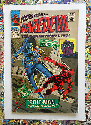 Daredevil #26 - Mar 1967 - Stilt-Man Appearance! - Vg+ (4.5) Pence Copy!!