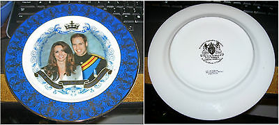 PRince William & Catherine [Kate] Middleton Wedding MArriage Commemorative Plate