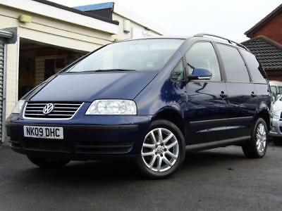 Volkswagen Sharan automatic wav wheelchair accessible vehicle disabled access