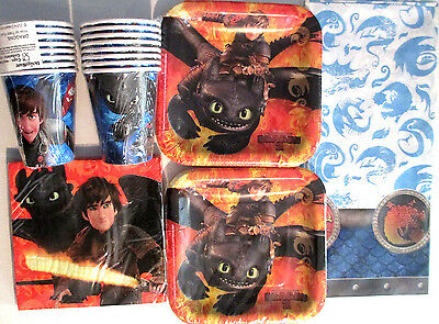 How To Train Your Dragon 2 - Birthday Party Supply Supply Kit Set 16