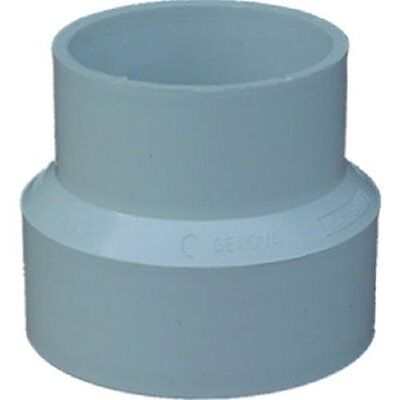 "GENOVA PRODUCTS 40132 3"" x 2"" PVC-DWV Red Coupling"