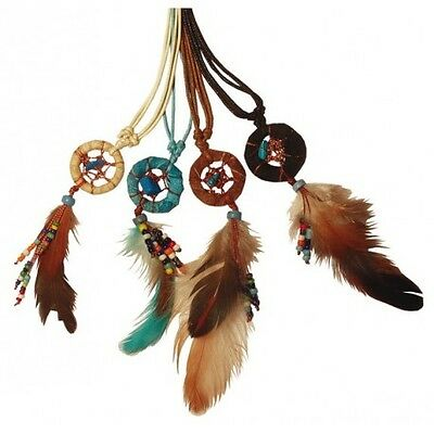 Dreamcatcher Mini avec perles 2 cm - lot de 4