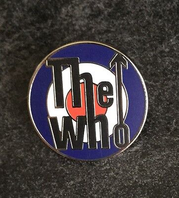 The Who Enamel Pin Badge - Brand New