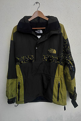 Rare North Face Rage Jacket Men Small Hoodie Ski Hunting Olive Burlington Ultrex